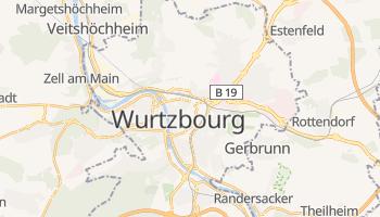 Carte en ligne de Wurtzbourg