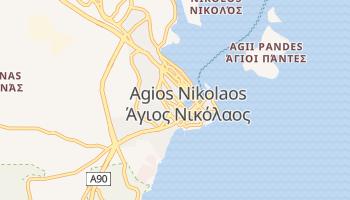 Carte en ligne de Agios Nikolaos