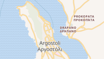 Carte en ligne de Argostoli