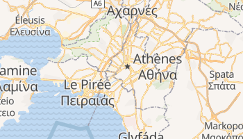 Carte en ligne de Athens