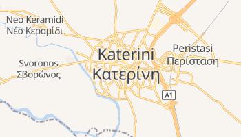 Carte en ligne de Kateríni
