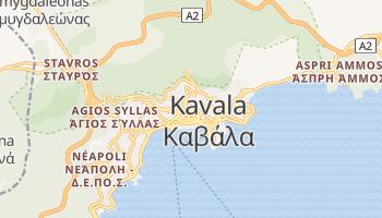 Carte en ligne de Kavala