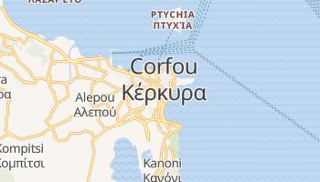 Carte en ligne de Corfou