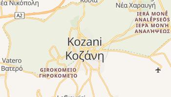Carte en ligne de Kozani