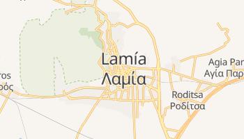 Carte en ligne de Lamia