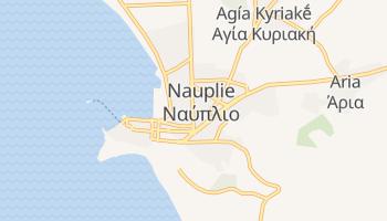 Carte en ligne de Nauplie