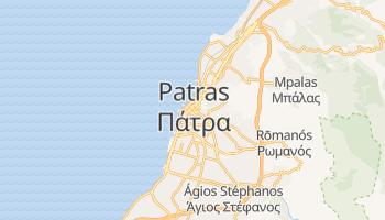 Carte en ligne de Patras