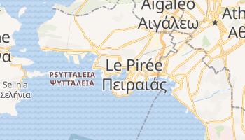 Carte en ligne de Le Pirée