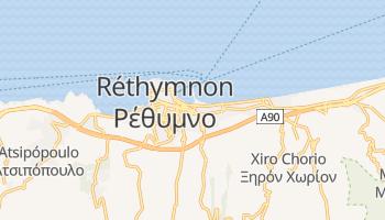 Carte en ligne de Réthymnon