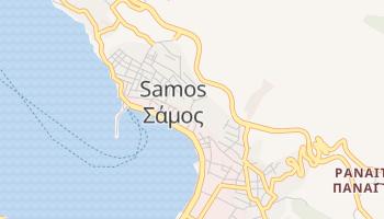 Carte en ligne de Samos