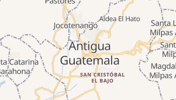 Carte en ligne de Antigua