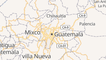 Carte en ligne de Guatemala