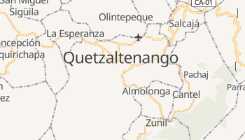 Carte en ligne de Quetzaltenango