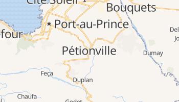 Carte en ligne de Pétionville