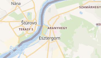 Carte en ligne de Esztergom