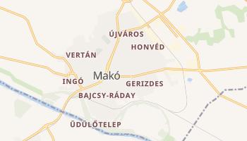 Carte en ligne de Mako