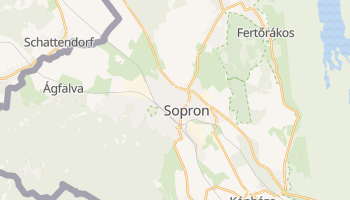 Carte en ligne de Sopron
