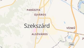 Carte en ligne de Szekszárd