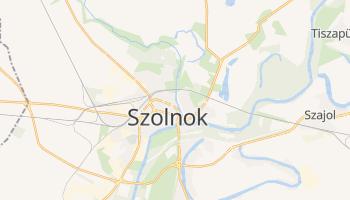 Carte en ligne de Szolnok