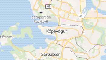 Carte en ligne de Kópavogur