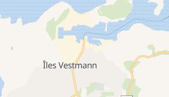 Carte en ligne de Îles Vestmann