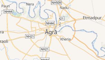 Carte en ligne de Âgrâ