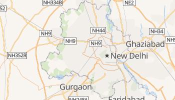 Carte en ligne de Delhi