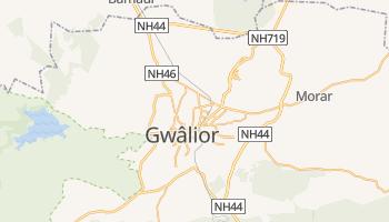 Carte en ligne de Gwâlior