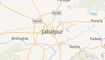 Carte en ligne de Jabalpur