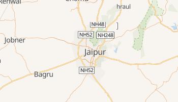 Carte en ligne de Jaipur