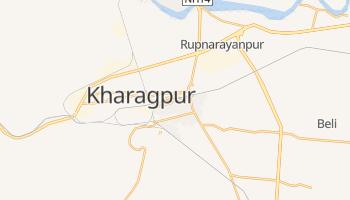 Carte en ligne de Kharagpur