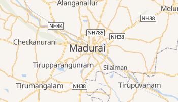Carte en ligne de Madurai
