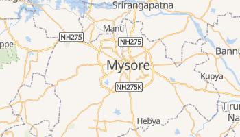 Carte en ligne de Mysore