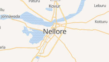 Carte en ligne de Nellore