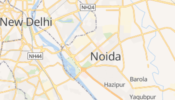Carte en ligne de Noida