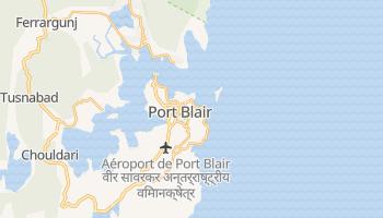 Carte en ligne de Port Blair