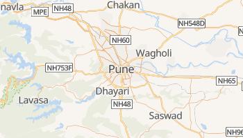 Carte en ligne de Pune