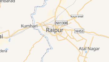 Carte en ligne de Raipur