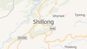 Carte en ligne de Shillong