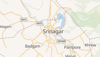 Carte en ligne de Srinagar