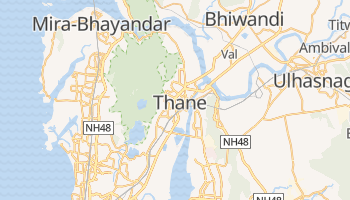 Carte en ligne de Thane