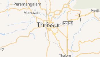Carte en ligne de Thrissur