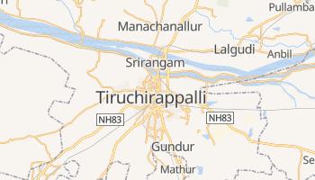 Carte en ligne de Tiruchirapalli