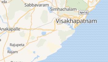 Carte en ligne de Vishakhapatnam