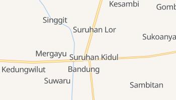 Carte en ligne de Bandung