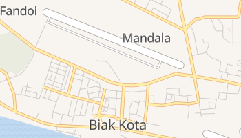 Carte en ligne de Biak