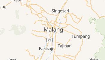 Carte en ligne de Malang