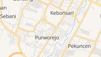 Carte en ligne de Purworejo