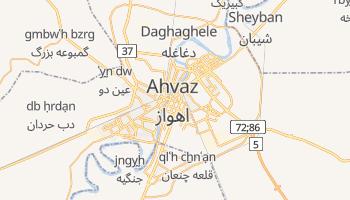 Carte en ligne de Ahvaz