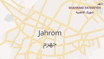Carte en ligne de Jahrom